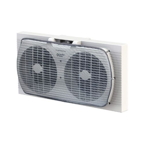 Comfort Zone Twin Window Fan