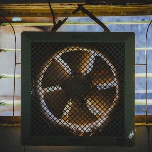 how to clean window fan