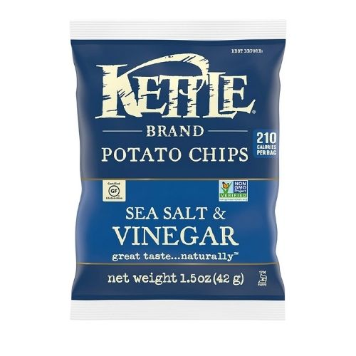 Kettle Brand Potato Chips with Sea Salt and Vinegar