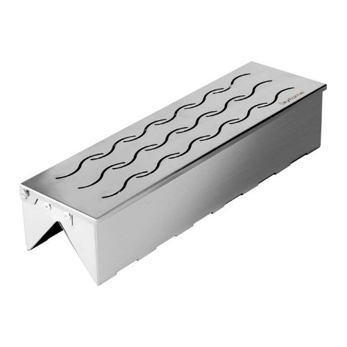 Skyflame Stainless Steel Double V-shape Smoker Box